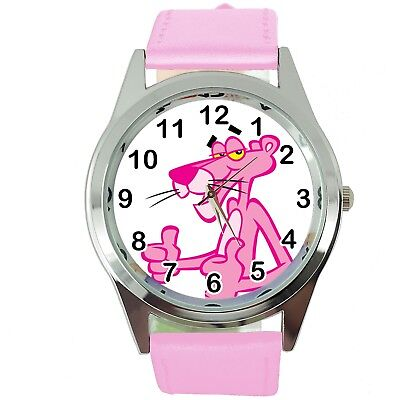PINK PANTHER Steel PINK LEATHER FILM MOVIE CARTOON ANIMATION DVD WATCH