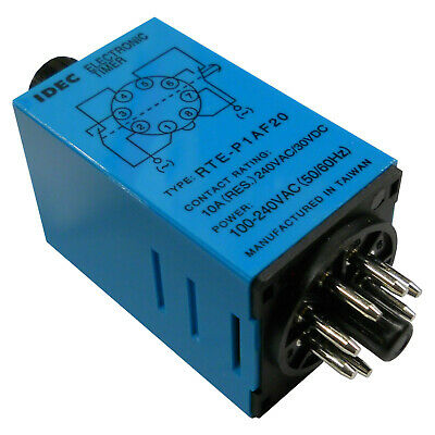 IDEC RTE-P1AF20 ELECTROMECHANICAL MULTIFUNCTION TIMER