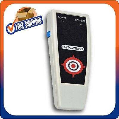 Rf 8.2mhz Handheld Detector For Hard Tags Labels Checkpoint Compt Made In Usa