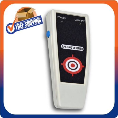 RF 8.2MHZ HANDHELD DETECTOR FOR HARD TAGS & LABELS CHECKPOINT COMPT MADE IN USA