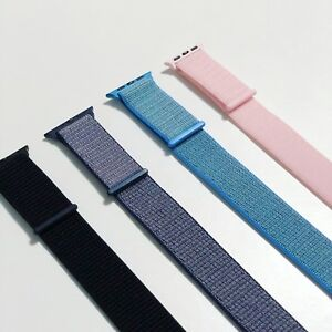New - Blue, Black, Pink Sport Loop, Apple Watch Series 1 2 3 4
