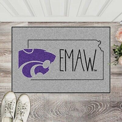 """Kansas State Wildcats Southern Style 19"""" X 30"""" Starter Area Rug Mat"""