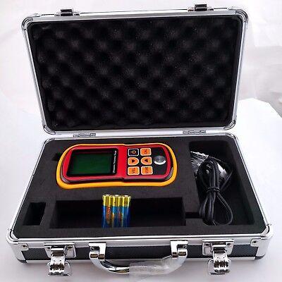 (Ultrasonic Thickness Meter Tester Gauge Velocity 1.2~225mm Metal GM-100 Digital)