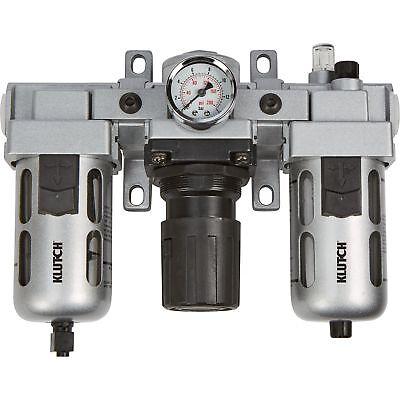 Klutch Air Filter-regulator-lubricator Combo - 12in. 106 Cfm