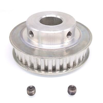 1pc Xl 35t Timing Belt Pulley Synchronous Wheel 16mm Bore For 10mm Width Belt