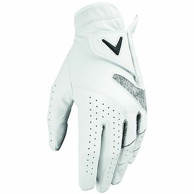 CALLAWAY 2019 APEX TOUR GOLF GLOVE - Right Handed Golfer / White