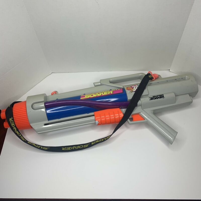 Vintage Super Soaker CPS 3000 Constant Pressure System Water Gun Toy 1997 NO BAG