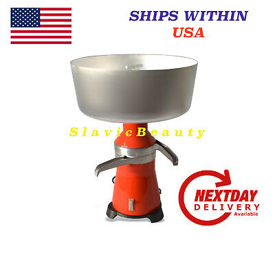 Milk Cream Separator Electric 100lh New 120v 15 Metal. Ships Free Within Usa