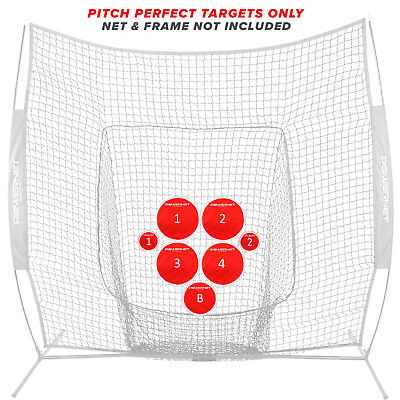 PowerNet Pitch Perfect Baseball Softball Accuracy Training Target Discs Only
