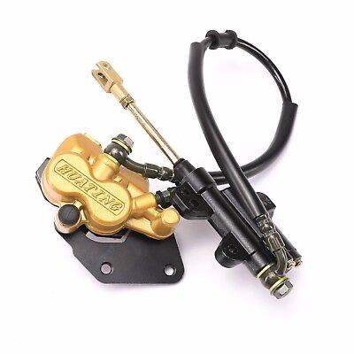 Go kart Cart Rear Hydraulic Brake Caliper Master Cylinder Brake Pad ATV