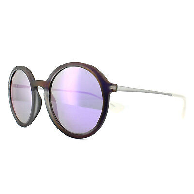 Ray-Ban Sonnenbrille 4222 61684v Violett Bild Gummi Grau Spiegel Violett 50mm