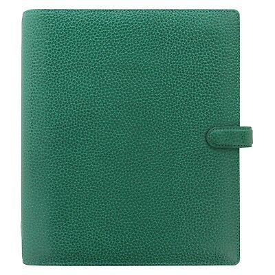 Filofax A5 Finsbury Leather Organizerplanner Forest Green - 025446 - Brand New