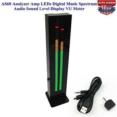 As60 Analyzer Amp Leds Digital Music Spectrum Audio Sound Level Display Vu Meter
