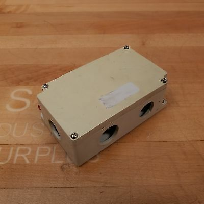 Boxco Bc-ag-10pt Terminal Block Junction Box 10 Point Abs Grey Side Terminals