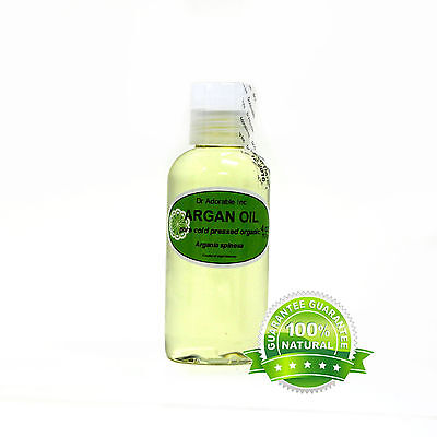 Pure Organic Argan Oil for Skin Hair Face&Nails Comes with a