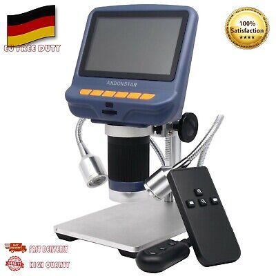 AD106S USB Digital Microscope 4.3 inch HD SMD Tool Soldering W/ Stand Repair DE - Digital Usb
