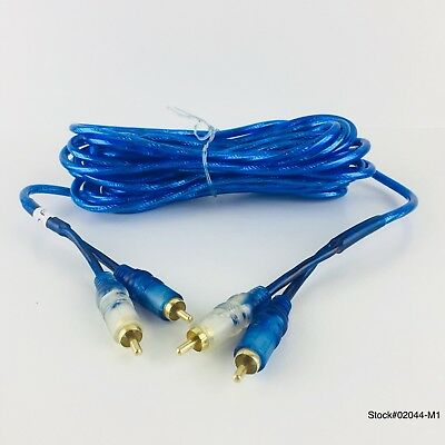 BOSS LINK TWISTED PAIR DUAL SHIELD PRO SERIES OFC BLUE AUDIO CABLE FREE SHIPPING