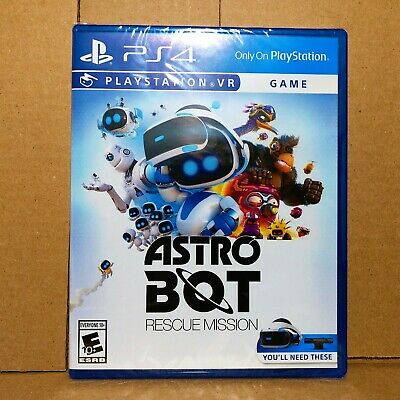 🔥Brand New Astro Bot Rescue Mission PS4 VR PlayStation 4 2018 PSVR Ship Fast