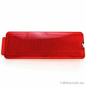 Ford 1999-2007 F250 SuperDuty Front or Rear Door Reflector F350 F450 F550 Red