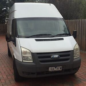 Ford Transit 2010 LWB High Roof - Excellent Conditions Brighton East Bayside Area Preview