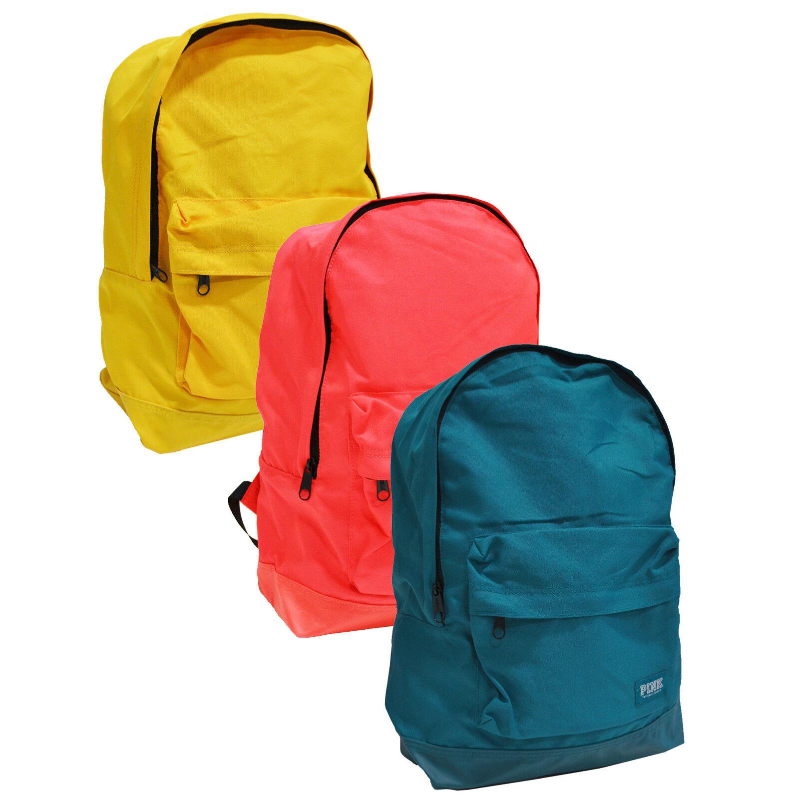 Victoria's Secret Pink Backpack School Book Bag Adjustable S
