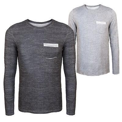 Maglia uomo maglietta slim fit aderente sottogiacca nuovo manica lunga moda  1628 1dc5f914e698