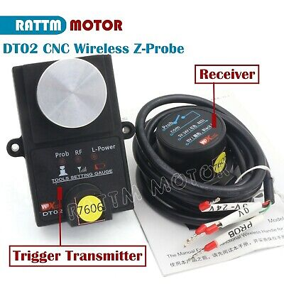 Dt02 Height Detection Cnc Wireless Mach3 Tool Setting Gauge Automatic Tool Probe