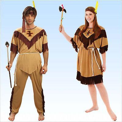 Kostüm Indianer oder Indianerin Gr. M bis XL Wilder Westen Sitting Bull -