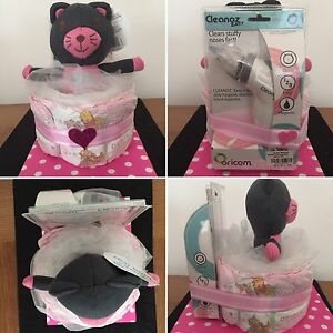 Baby Girl Nappy Cake baby shower gift hamper present unwanted Canley Heights Fairfield Area Preview
