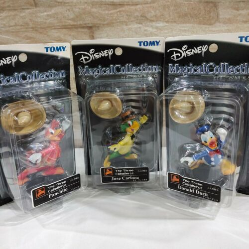 Disney TOMY Donald Panchito Jose Three Caballeros Magical Collection Figure Toy