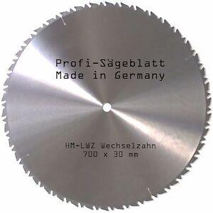 HM KREISSÄGEBLATT Widea 700 x 30 mm Hartmetall Sägeblatt für Brennholz Wippsäge