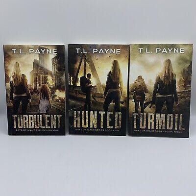 T.L. Payne Days of Want Series Books 1-3 EMP Post-Apocalypse SHTF Survival