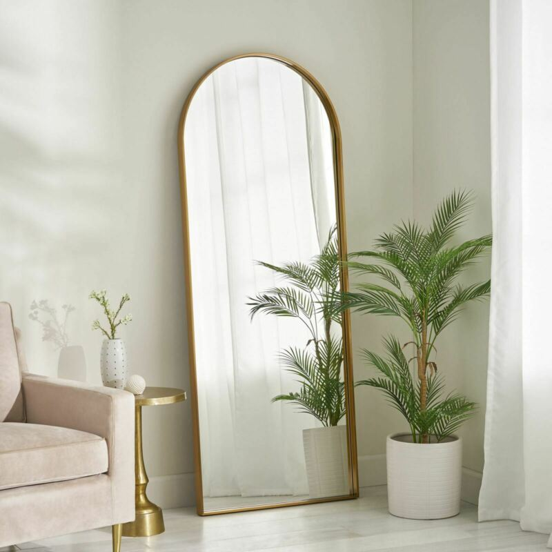 Hughey Contemporary Full Length Leaner Mirror