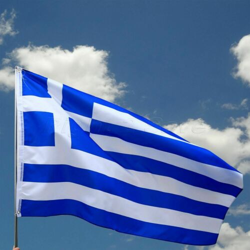 FULL SIZE GREECE NATIONAL FLAG GREEK FLAG 150x90cm 5X3ft