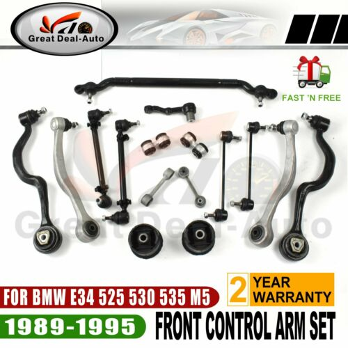 Bmw 5 Series E39 535 540 Track Control Wishbone Arm Lower Front Axle Left