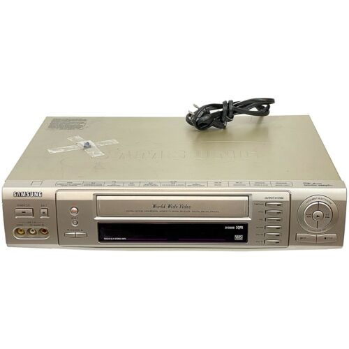 Samsung World Wide Video VCR NTSC PAL SECAM Universal SV-5000W *For Parts Only*