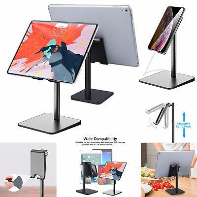 universal phone tablet stand adjustable desktop holder