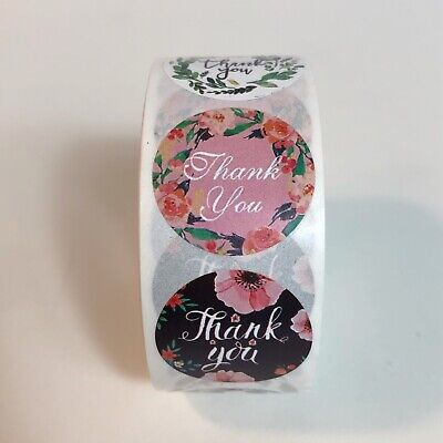 100 Pcs Thank You Stickers Package Business Gift Stickers 1