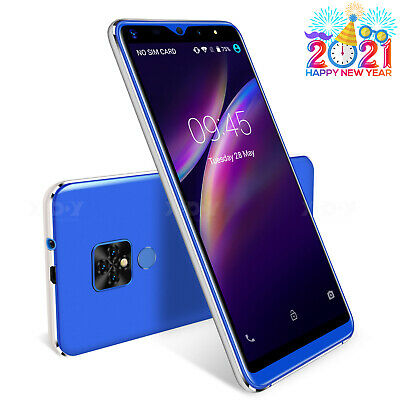 Android Phone - 2021 XGODY Android Unlocked Mobile Phone 16GB Smartphone Dual SIM Quad Core GPS