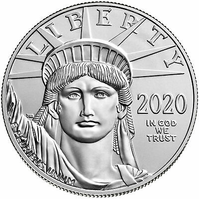 2020 $100 American Platinum Eagle 1 oz Brilliant Uncirculated