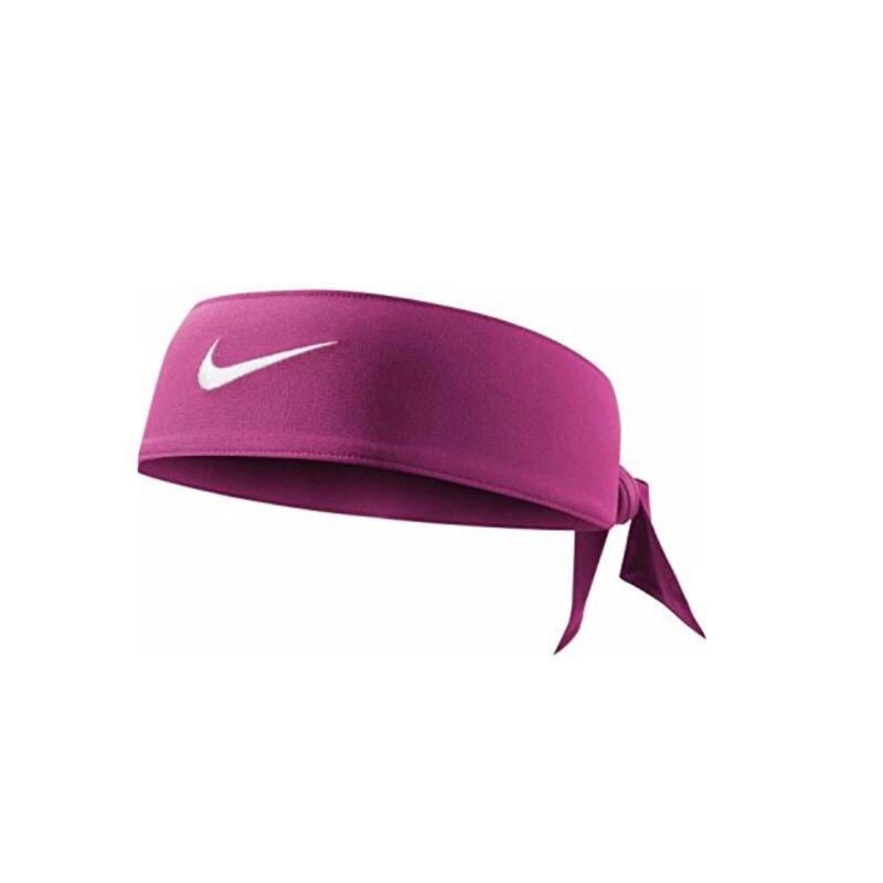 NIKE Dri-Fit Head Tie 3.0 Sweatband Headband Pink Reversible Dry Fit Head Band