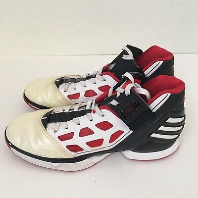 808db631ae1a ADIDAS AdiZero D Rose 2 Home Shoes Size 13 US Derrick Rose Vintage.