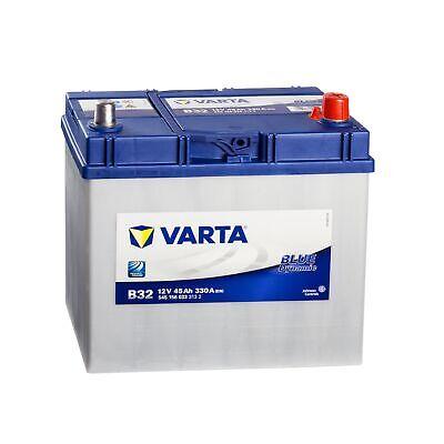 ASIA Autobatterie 12V 45Ah 300A Varta B23 Dynamic Starterbatterie Pluspol rechts