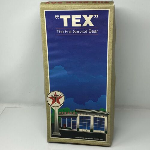 """Texaco """"Tex"""" The Full Service Bear First Edition 1997 by Sally Morrison Stringer"""