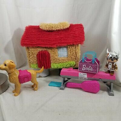 Barbie Dog Purse Flippin Fun Balance Beam 2015 Accessories Playset & Manley Hous
