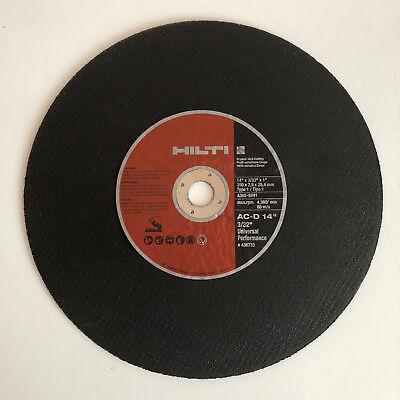 Hilti Ac-d Up Steel Dry Stud Cutting Discs - 14 Diameter - 436733 - 10 Pack