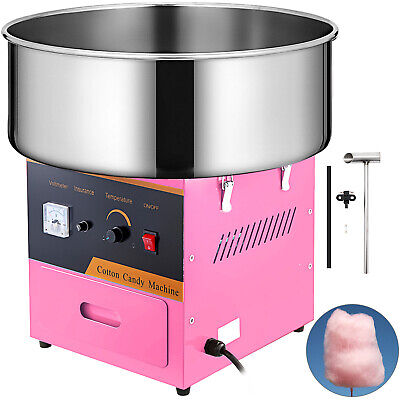Electric Commercial Cotton Candy Machine Floss Maker Pink Cover Not Included