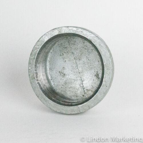 """3"""" Galvanized Cap pipe fitting, NPT, 150 psi"""