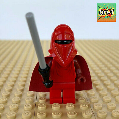 LEGO Star Wars: Royal Guard, STAFF, RED/ DARK RED CAPE 75034 DEATH STAR TROOPERS