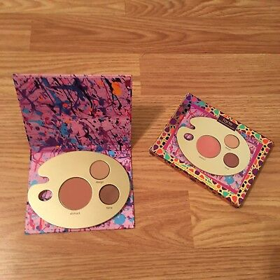 Tarte Paint Eye & Cheek Palette Eyeshadow & Blush Travel Size NIB  (Painted Palette)
